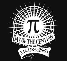 NEW Pi Day of the Century 3.14.15 9:26:53 by EthosWear