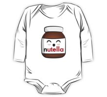 Nutella face 3 One Piece - Long Sleeve