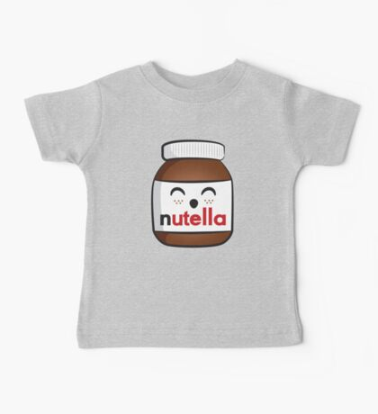 Nutella face 3 Baby Tee