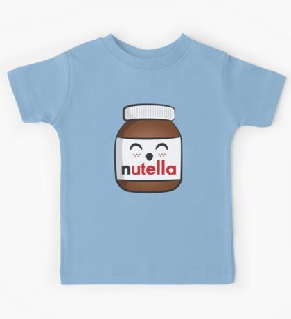 Nutella face 3 Kids Tee