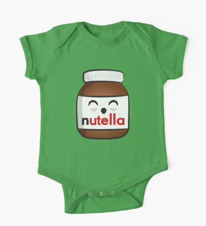 Nutella face 3 One Piece - Short Sleeve