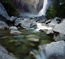 Lower Yosemite Falls by Adam Bykowski