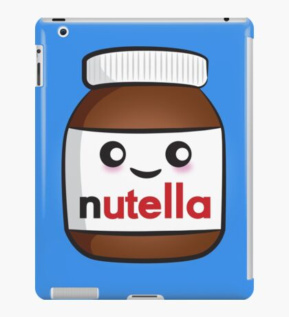 Nutella face 2 iPad Case/Skin