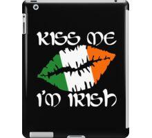 Kiss Me I'm Irish iPad Case/Skin