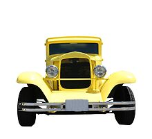 Yellow Hot Rod by Karl R. Martin