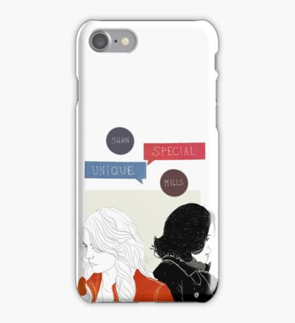 Swan Queen - Unique, maybe even special iPhone Case/Skin