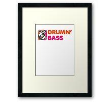DrummN' Bass Framed Print