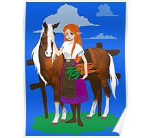 Malon and the Horse Poster