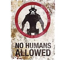 No humans allowed II Photographic Print