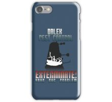 Dalek Pest Control iPhone Case/Skin