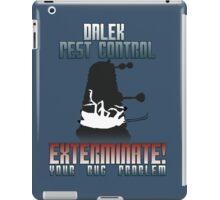 Dalek Pest Control iPad Case/Skin