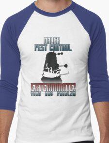 Dalek Pest Control Men's Baseball ¾ T-Shirt