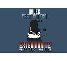 Dalek Pest Control Photographic Print