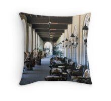 'Casa Grande Perspective' Throw Pillow