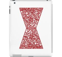 Celtic Black Widow Logo Avengers Black with Red fill iPad Case/Skin