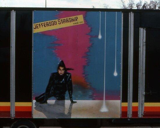 'Starship Truck Art. Modern Times Tour' by Scott Bricker