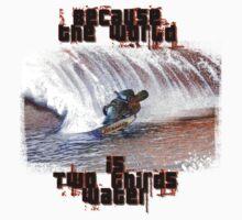 Water ski T by David Geoffrey Gosling (Dave Gosling)