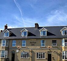 Anchor Inn, Beer Devon UK by lynn carter