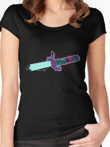 Master The TriLaser (colour version) Women's Fitted Scoop T-Shirt