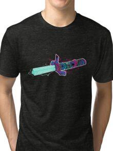 Master The TriLaser (colour version) Tri-blend T-Shirt