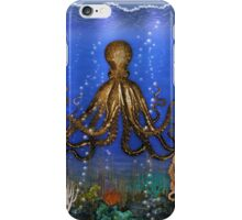 Octopus' Lair - colorful iPhone Case/Skin