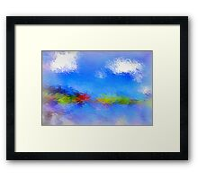 From The Painting Easel #6 Framed Print