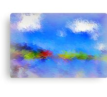 From The Painting Easel #6 Canvas Print