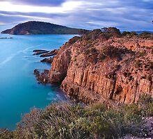 Betsy Island, South Arm Tasmania  by James Nielsen
