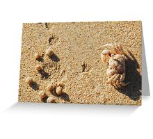 Beach Commando Greeting Card