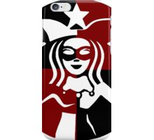 Quinn Coffee (Black+Red) iPhone Case/Skin