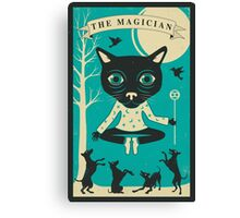 TAROT CARD CAT: THE MAGICIAN Canvas Print