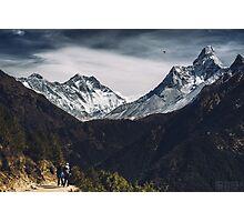 NEPAL:MT.EVEREST / LHOTSE / AMA DABLAM Photographic Print