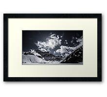 NEPAL:GOKYO Framed Print