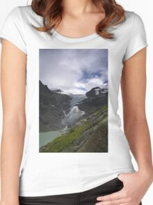 trift glacier Women's Fitted Scoop T-Shirt