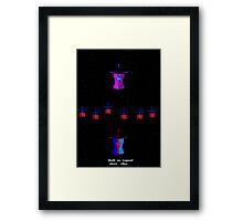 Revival series  Kate In Space Framed Print