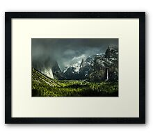 USA:YOSEMITE IN SPRING Framed Print