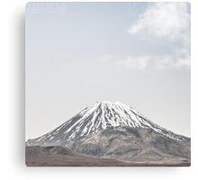 NEW ZEALAND:LONE MOUNTAIN Canvas Print