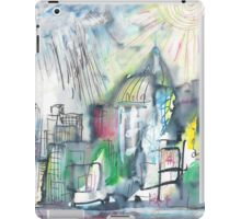 SPRING STORM IN THE CITY(C2010) iPad Case/Skin