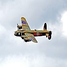 Canadian Avro Lancaster Bomber by ten2eight