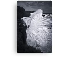 NEW ZEALAND:60 FT. WAVE AT SLOPE POINT Canvas Print