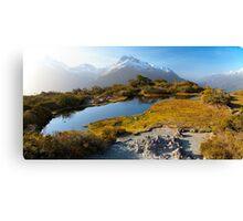 NEW ZEALAND:KEY SUMMIT AT SUNSET Canvas Print