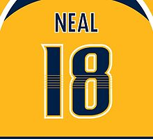 Nashville Predators James Neal Jersey Back Phone Case by Russ Jericho
