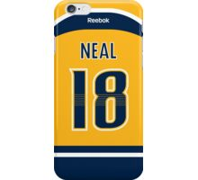 Nashville Predators James Neal Jersey Back Phone Case iPhone Case/Skin