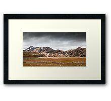 ICELAND:RISING STORM Framed Print