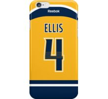 Nashville Predators Ryan Ellis Jersey Back Phone Case iPhone Case/Skin