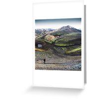 ICELAND:PRIMEVAL Greeting Card