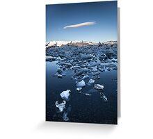 ICELAND:GLACIER LAGOON Greeting Card