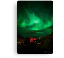 ICELAND:NORTHERN LIGHTS Canvas Print