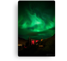 ICELAND:NORTHERN LIGHTS Canvas Print