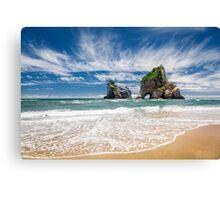 NEW ZEALAND:THE SECRET BEACH Canvas Print